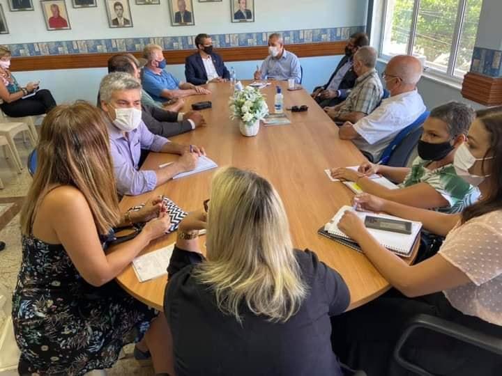 A CDL Rio Bonito junto a prefeitura em busca de parcerias e ferramentas para a geração de emprego